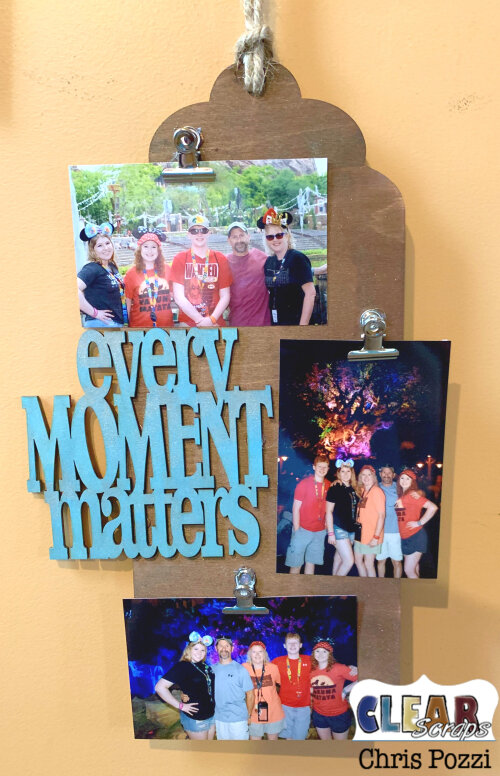 Every Moment Matters Wall Hanging