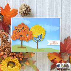 Autumn Thank You Card