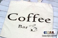 Coffee Bar Canvas Bag