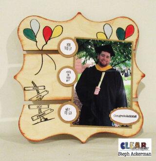 Happy Graduation Pallet