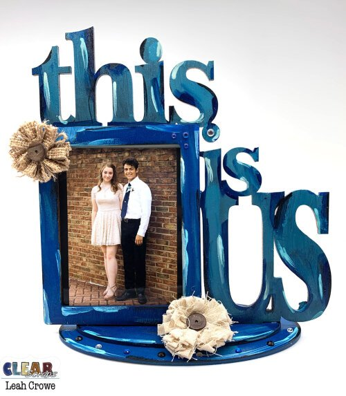 This Is Us Desktop DIY Wood Word Frame