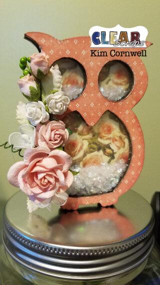 Shabby Chic Shaker Owl