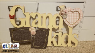 Grandkids XL Wood Frame