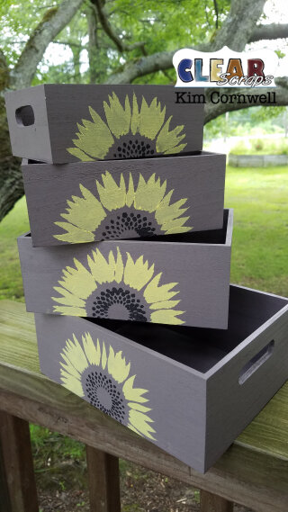 Sunflower Boxes