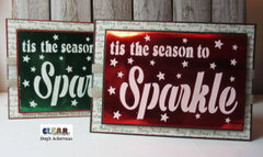 Tis The Season To Sparkle Cards