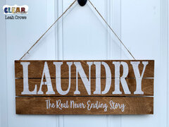 Laundry Home Decor Sign
