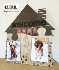 Welcome Home House XL Puzzle Shape