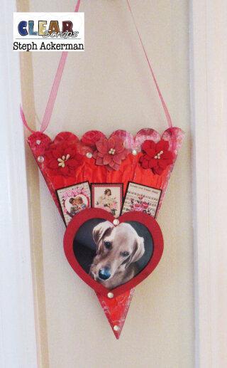 Sweet Valentine Heart Banner