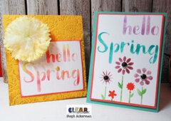 Hello Spring Cards