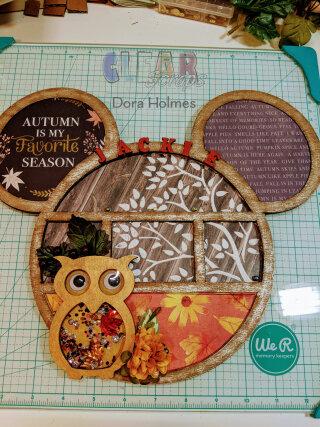 Mickey in Autumn