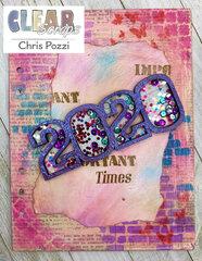 2020 Stenciled Journal