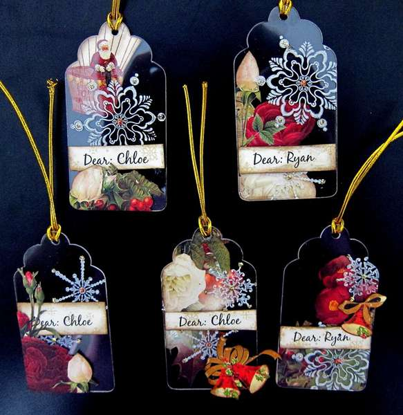 Clear Scraps Acrylic Tags