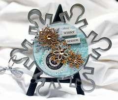 Clear Scraps Acrylic Snowflake Album