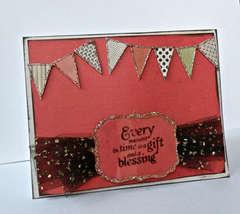 Clear Scraps Acrylic Card