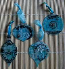 Clear Scraps Acrylic Ornaments by DT Cathy S.