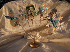 Clear Scraps Christmas Photo Holder