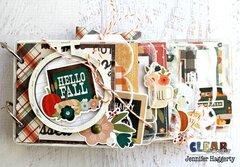 Hello Fall Scallop Acrylic Album