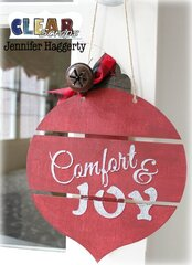 Comfort & Joy Bulb Medium DIY Pallet Shape