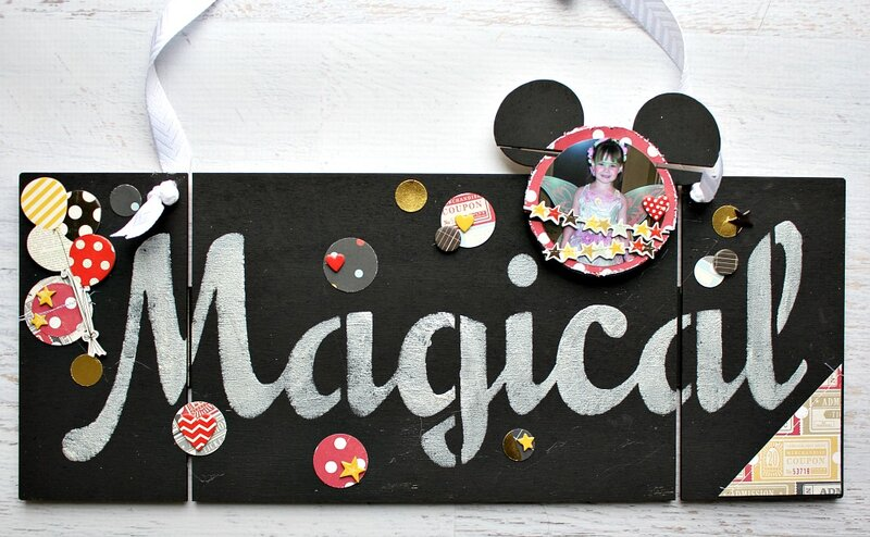 Magical Plaque DIY Pallet Shape