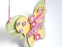Acrylic Butterfly Window Hanger