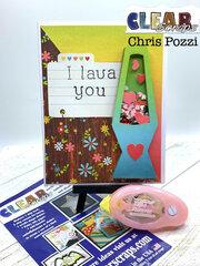 Lava Lamp Shaker Greeting Card