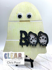 Glow in the Dark Ghost Home Decor