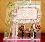I miss you Card By Clear Scraps DT Irene