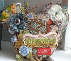 Clear Scraps Acrylic Mouse Album