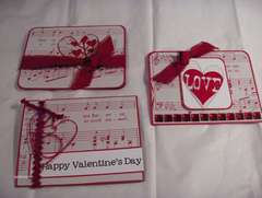 Valentine Cards by Clear Scraps DT Cathy S.