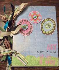 Acrylic Sheet Turned Journal! ~ By Cathy S. Dt Member
