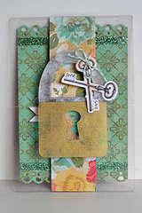 BRAND NEW DESIGN! Send It Clear Acrylic Lock Card