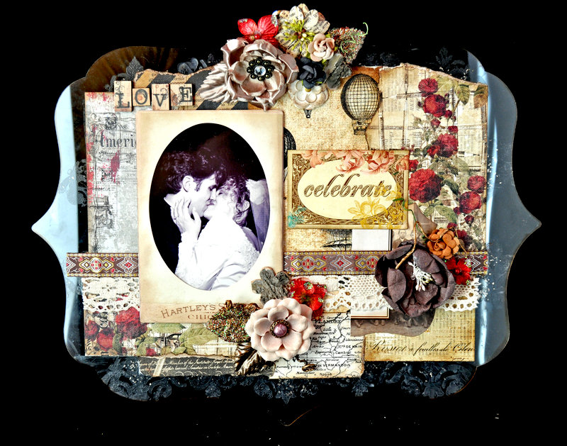 Our Day Deco Clipboard by Nancy Keslin