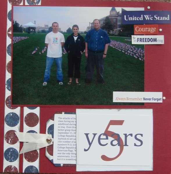 5 Years - September 11, 2006