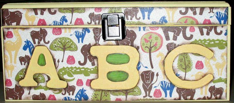 ABC Jungle animal box