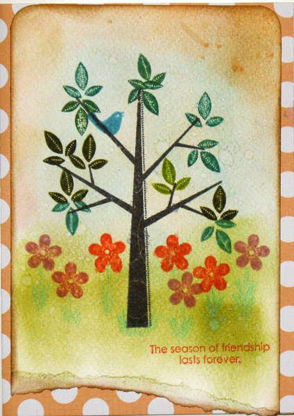 Friend card