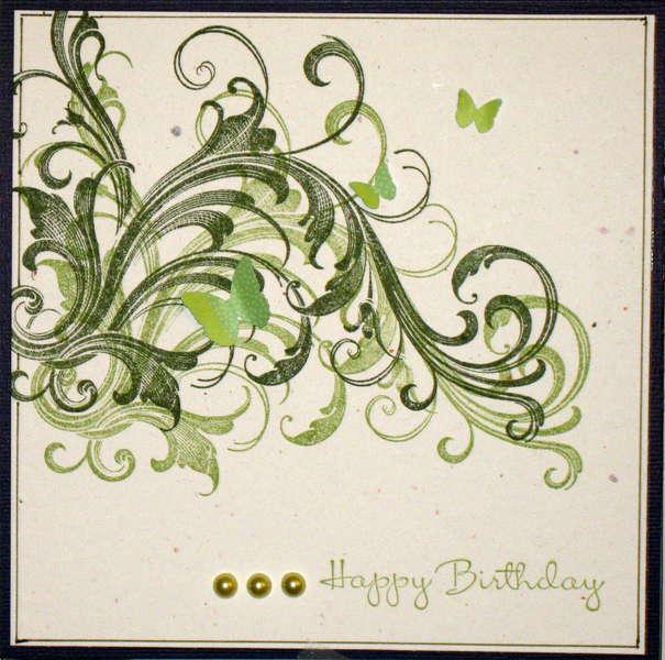 Guy birthday card