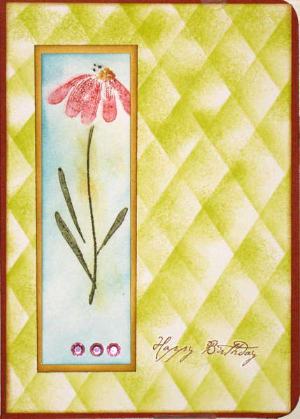 """Quilted""Top card"