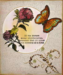Sympathy card for very dear friend