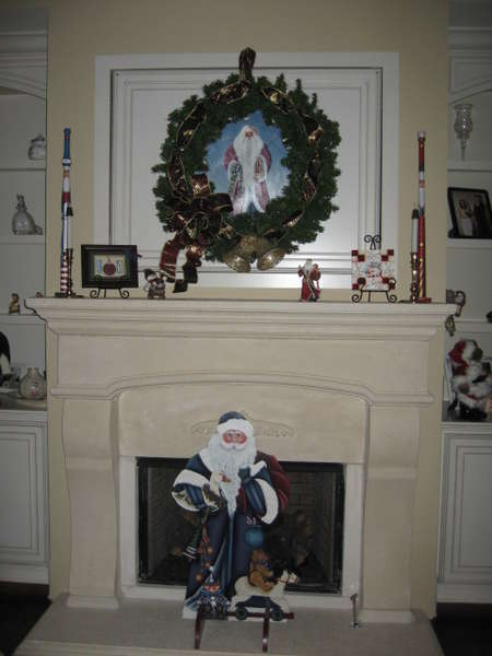 Painted Santa's