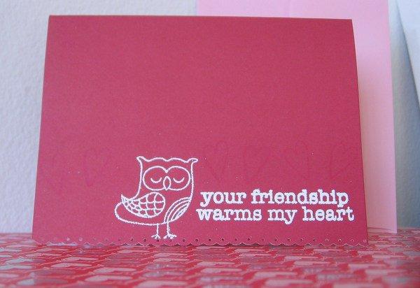 Week 2: Cardmakers Challenge - Your Friendship...
