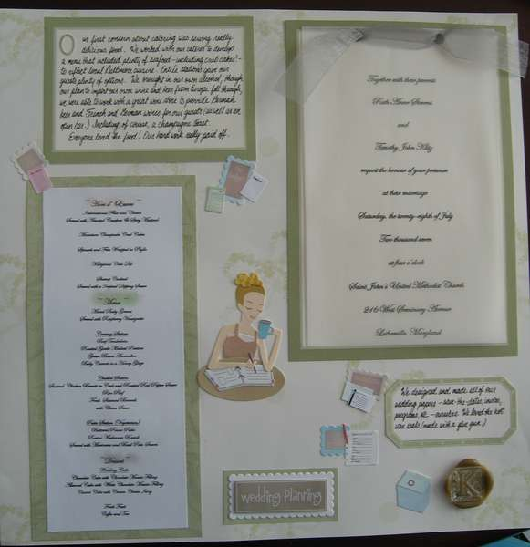 wedding planning (right page)