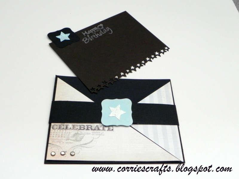 Criss Cross Card - Boy