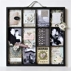 Wedding Altered Printer's Tray
