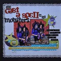 let's cast a spell on the monsters