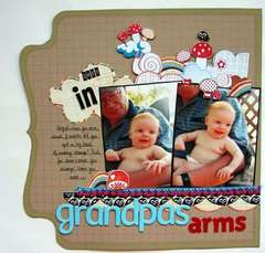 Safe in Grandpa's Arms