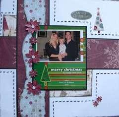 2007 Christmas Card layout