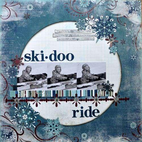 ski-doo ride