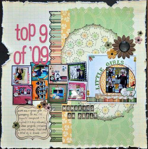 top 9 of '09: memories on paper
