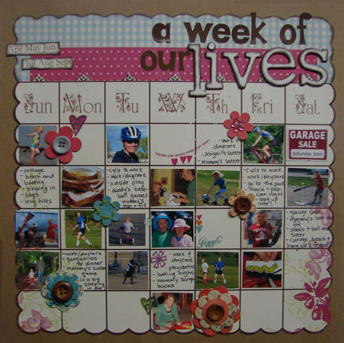 a week of our lives