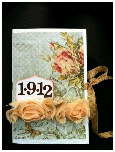 Wedding bookcard